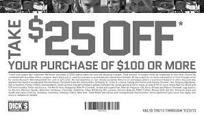 sporting goods coupons printable 2014 save 25 with