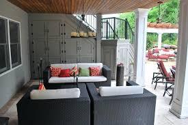 porch storage ideas under porch storage patio contemporary with