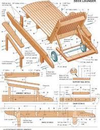 Outdoor Wood Chaise Lounge Chaise Lounge Plans Muebles De Jardín Pinterest Chaise