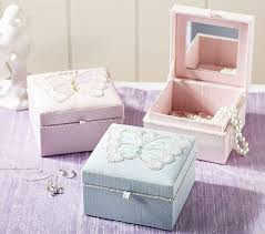 jewelry box favors beaded butterfly small jewelry box pottery barn kids