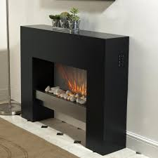 free standing electric fire mdf creme surround fireplace flicker