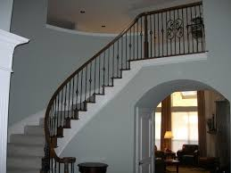 Metal Banister Spindles North Texas Custom Wrought Iron Baluster Replacement And Staircase