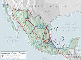 Mexico Political Map by A New Mexican Revolution