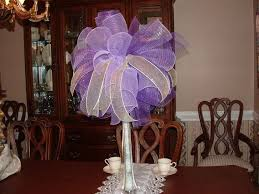 mesh ribbon table decorations 169 best deco mesh centerpiece images on pinterest deco mesh