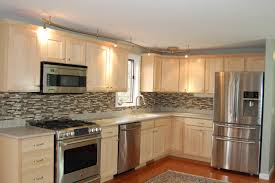 Resurfacing Kitchen Cabinets Before And After Sears Cabinet Refacing Before And After Kitchen Nj Cost Diy Doors