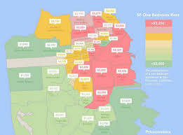 average one bedroom apartment rent sf rent map charming average one bedroom apartment rent 1
