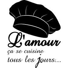 phrase cuisine stickers citation cuisine pas cher
