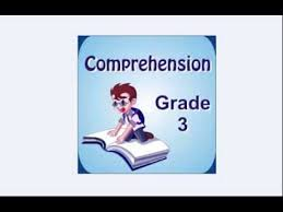 english comprehension interactive practice worksheets for grade 3