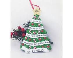Personalized Ornaments For Large Families Family 11 Ornament Etsy
