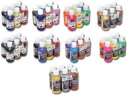 amazon com sargent art metallic acrylic paint set 6 pack