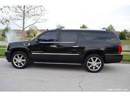 cadillac escalade esv 2007 for sale used 2007 cadillac escalade esv suv limo orlando florida
