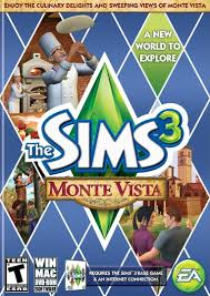amazon com the sims 3 monte vista pc video games