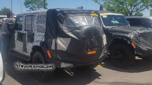 2019 jeep wrangler pickup truck 2019 jeep wrangler diesel yes it u0027s real spy shots the fast
