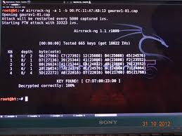 aircrack android cracking the wep key with backtrack 5r3 hacking networking