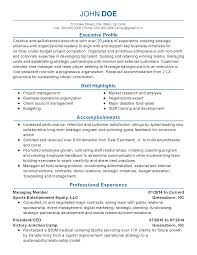 Management Consulting Resume Management Consultant Resume