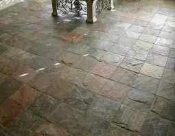 Stone Floor Bathroom - slate floor tile