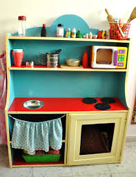 the crafeteria from old ikea cupboard to children play kitchen