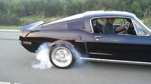 mustang 68 fastback ford mustang 1968 fastback shelby 427 burnout