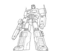 galvatron cover lines by glovestudios on deviantart lineart