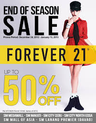 forever 21 black friday forever 21 end of season sale december 2012 january 2013
