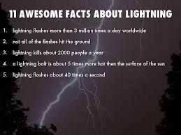 11 awesome facts about lightning by ali horton66