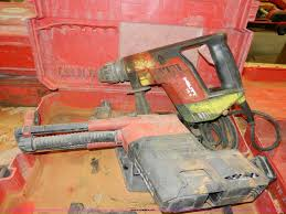 2 hilti drills item x9166 sold march 12 interstate e