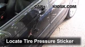 bmw 328i tire pressure properly check tire pressure bmw 328i 1999 2006 1999 bmw 328i