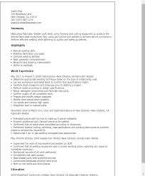 resume format exles for steel fabrication sle resume of welder fabricator
