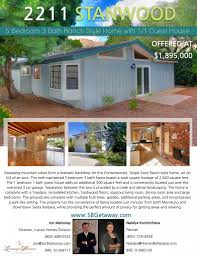 new listing 5 bedroom 3 bathroom ranch style home with 1 1 guest