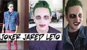 Joker Costume For Halloween by Jared Leto