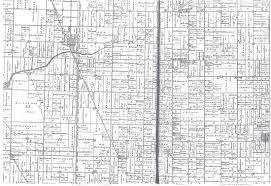 Michigan Township Map by Blendon U0026 Olive Plot Maps Borculo Michigan