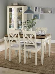 dining room table outstanding two tone dining table ideas white