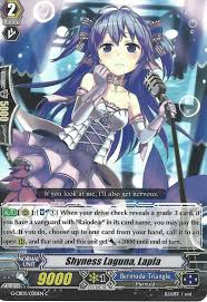 cardfight vanguard 4 x cardfight vanguard cards shyness laguna lapla g cb03 030en c