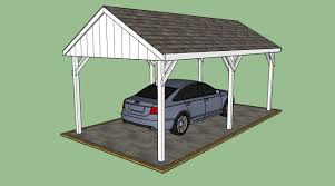 carports attached to house wooden carport plans howtospecialist how to build step also how to