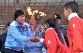 presidente inaugura segunda fase de los juegos arrancan juegos plurinacionales en cochabamba prensa rural