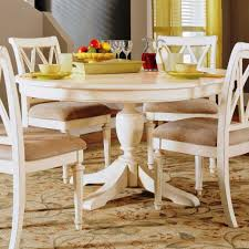 Round Dining Table And Chairs For 4 White Round Dining Table Nyfarms Info
