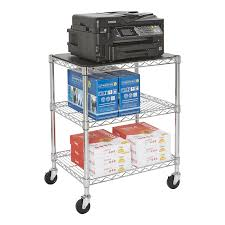 Stackable Wire Shelves by Industrial Post Steel Wire Shelving Storables