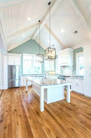 cathedral ceiling kitchen lighting ideas vaulted ceiling kitchen godembassy info