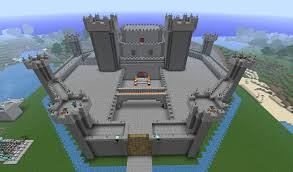 minecraft survival castle and exceptional simple castles 17 vitrines