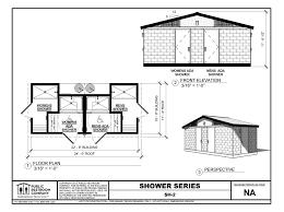 Bathroom Floor Plan by Prefabricated Public Showers For Public Restrooms Public
