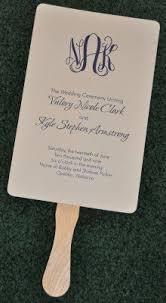 Wedding Program On A Fan Fan Wedding Program Traditional Wedding Program Fan Pretty Wedding
