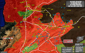 Where Is Syria Located On The Map by Syrian Army Takes Control Of Hills North Of Zaza Triangle In Homs