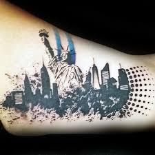 black ink tattoo of new york city sighs tattooimages biz