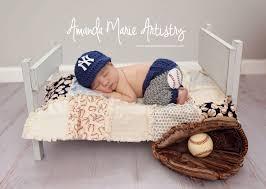 Infant Atlanta Braves Clothes Newborn Ny Yankees Costume Baby Boy Baseball Set Cap And