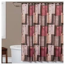 Purple And Brown Shower Curtain Ivory Fabric Shower Curtain Target
