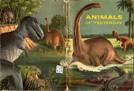 love in the time of chasmosaurs vintage dinosaur art animals of