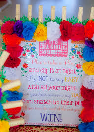 mexican baby shower colorful mexican themed baby shower party planning ideas decor