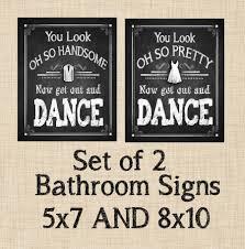 home signs decor ideas bathroom signs decor inside elegant chalkboard style get