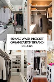 how to organize a small walk in closet g home design genty