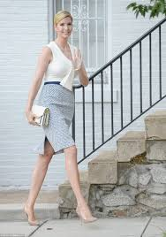 ivanka blouse ivanka heads to the white house in a nautical look daily
